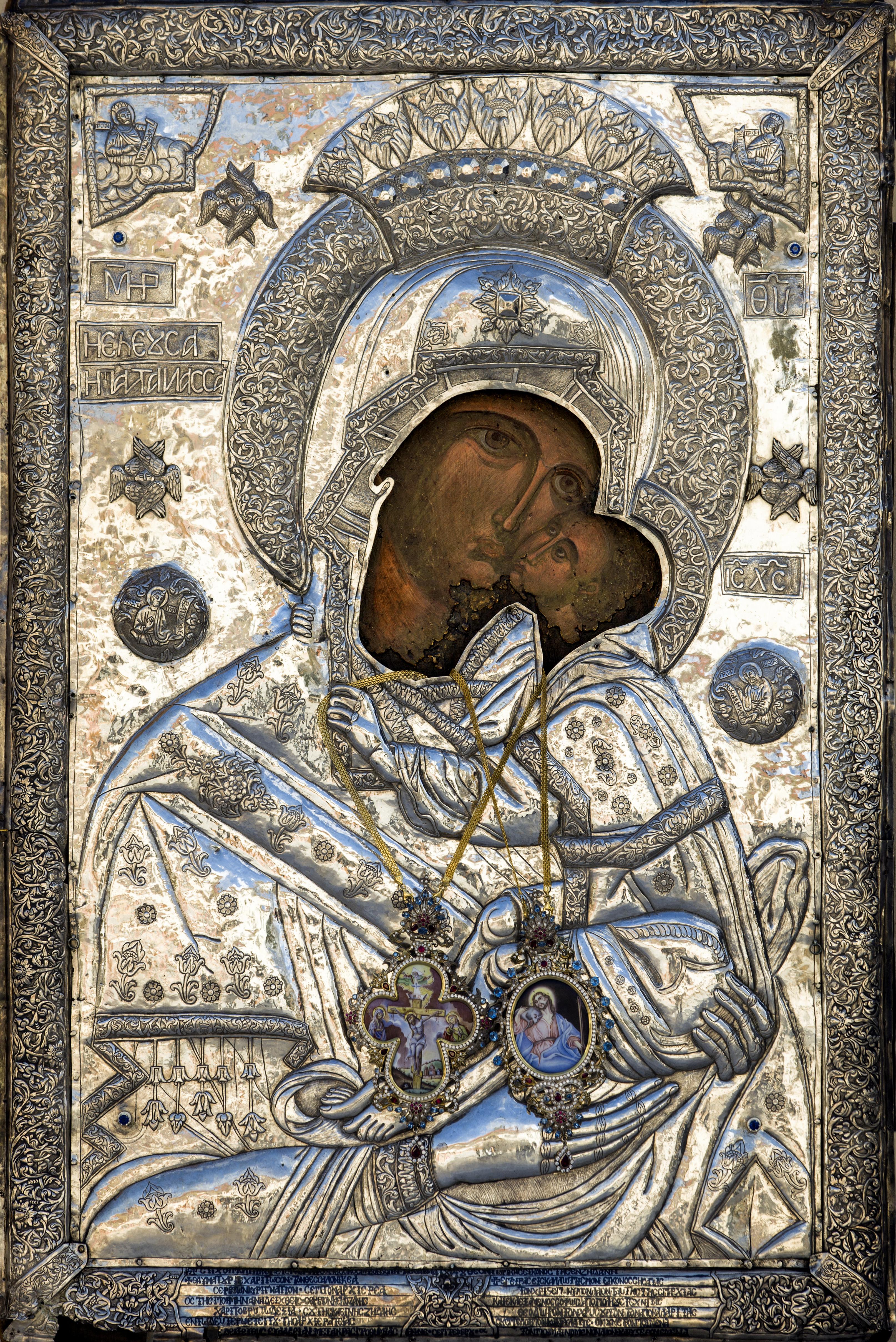 H Iερή Eικόνα της Παναγίας Ζιδανιώτισσας στην Κοζάνη