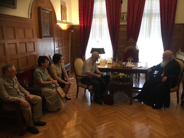 Συνάντηση Αρχιεπισκόπου Αθηνών και πάσης Ελλάδος κ. Ιερωνύμου με τα μέλη του Συλλόγου «Αφήστε με να ζήσω»