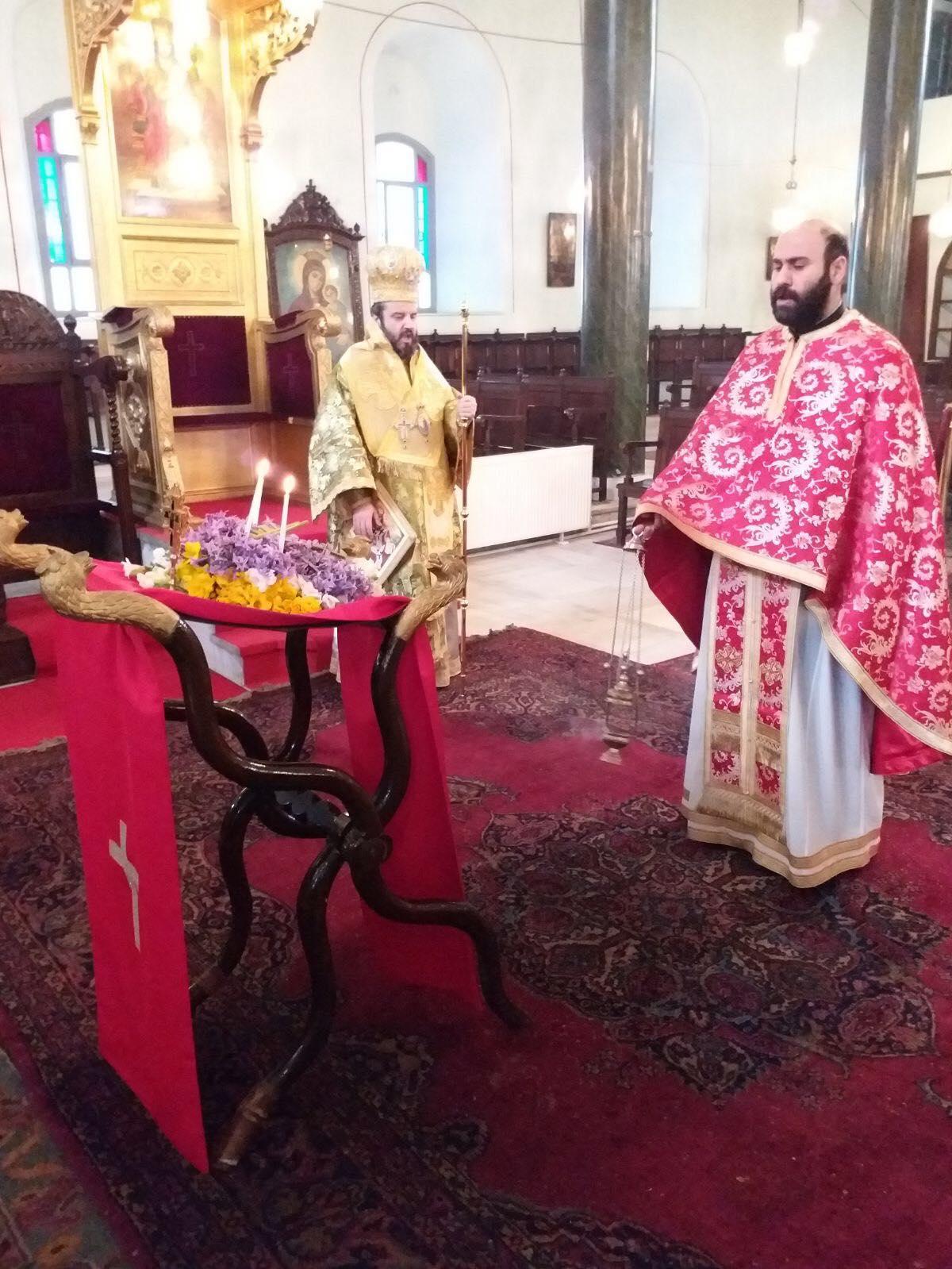 Ο Σεβ. Μητροπολίτης Σηλυβρίας κ. Μάξιμος, στον Ι. Ναό Αγίων Κωνσταντίνου και Ελένης Υψωμαθείων FOTO