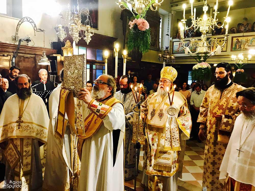Η ακολουθία του Εσπερινού επί τη εορτή των αγίων και ενδόξων νεοφανών μαρτύρων Ραφαήλ, Νικολάου και Ειρήνης FOTO