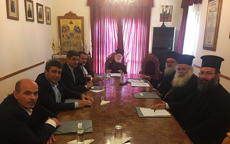 Συνάντηση με όλους τούς Βουλευτές της Κρήτης