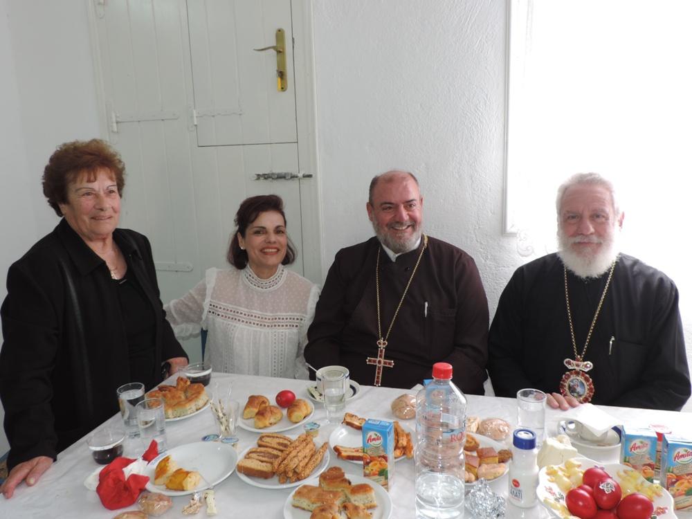 """Στο περεκκλήσιο του Αγίου Θωμά στο """"ΜΑΡΑΘΙ"""" Μυκόνου τέλεσε τον προεόρτιο Εσπερινό ο Σεβ. Μητροπολίτης Σύρου κ. ΔΩΡΟΘΕΟΣ Β` FOTO"""