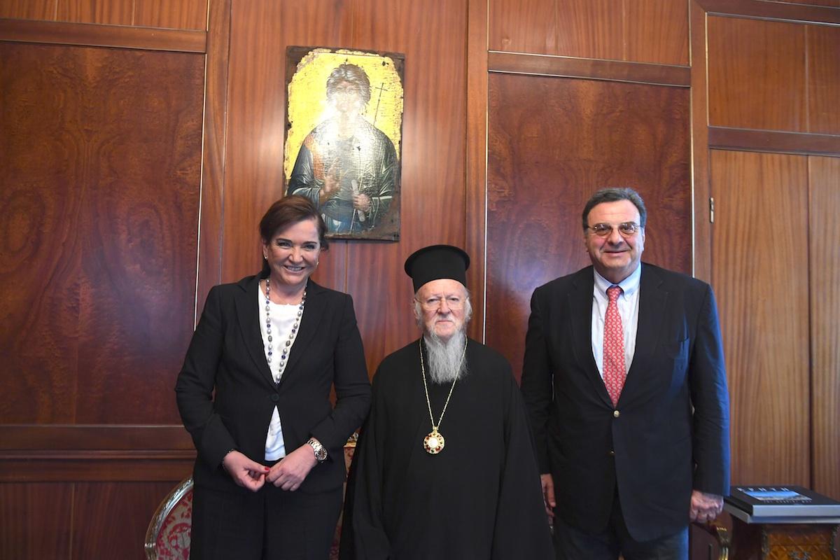 Η Βουλευτής και πρώην Υπουργός Εξωτερικών της Ελλάδος, κυρία Ντόρα Μπακογιάννη FOTO