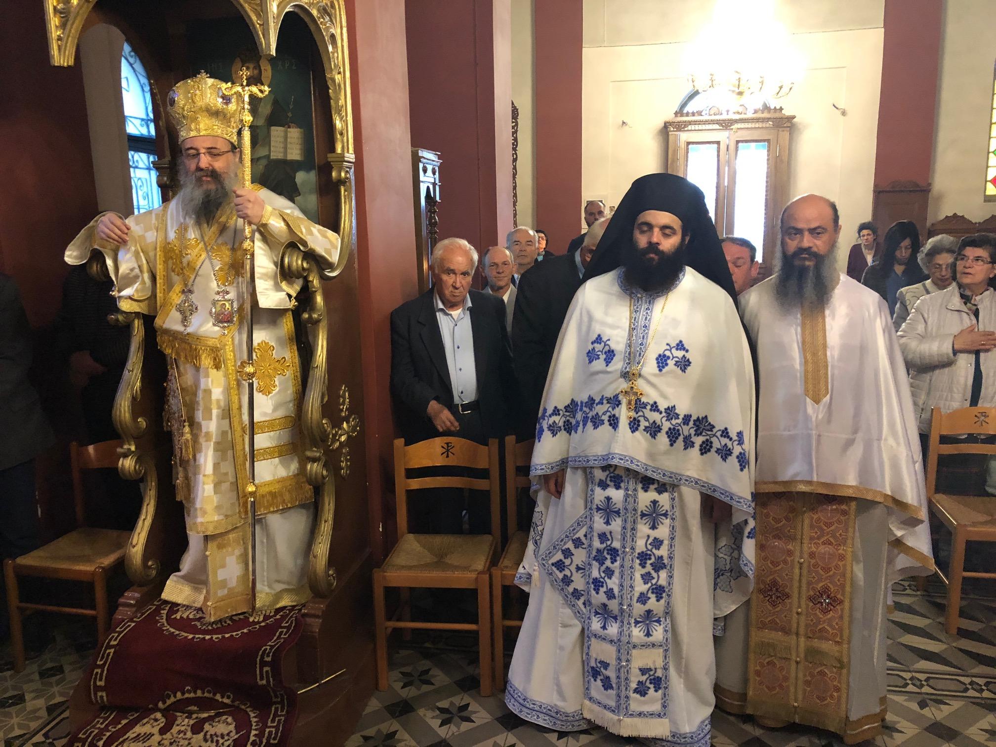 Η μνήμη του Αγίου Νεομάρτυρος Δημητρίου του εν Τριπόλει μαρτυρήσαντος στην Ι. Μητρόπολη Πατρών FOTO