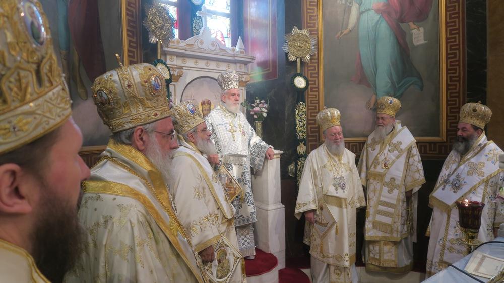 Μνήμη του Αγίου Ιερομάρτυρος Δωροθέου - 82α επέτειος από της ευρέσεως της Εικόνας του Αγίου Δημητρίου FOTO