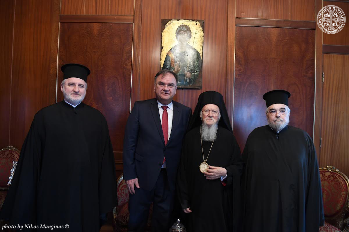 Διαδοχικές επισκέψεις των Προέδρων της Βοσνίας- Ερζεγοβίνης, κ.Mladen Ivanic και της FYROM, κ. Gjorge Ivanov στο Οικουμενικό Πατριαρχείο FOTO