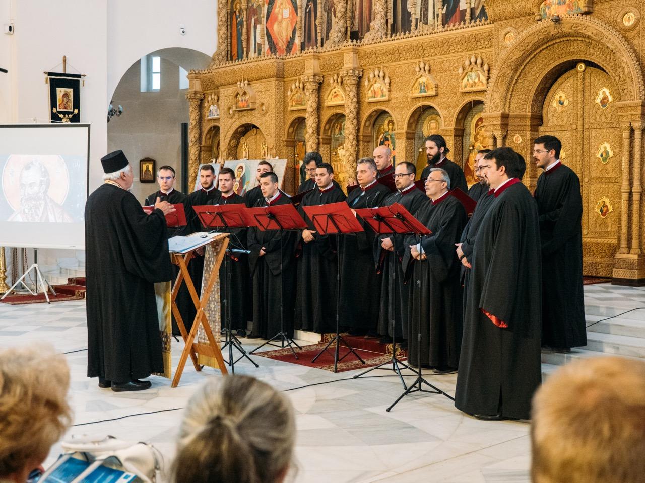 Βυζαντινή Συναυλία στον Ιερό Καθεδρικό Ναό Αγίων Θεοδώρων Αγίας Πετρουπόλεως Ρωσίας FOTO