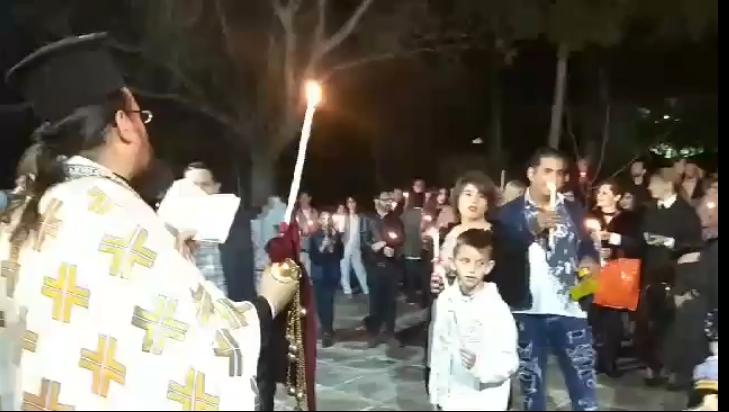 Η τελετή της Αναστάσεως στον Άγιο Στυλιανό ΚΑΑΠ (πρώην ΠΙΚΠΑ) Βούλας FOTO