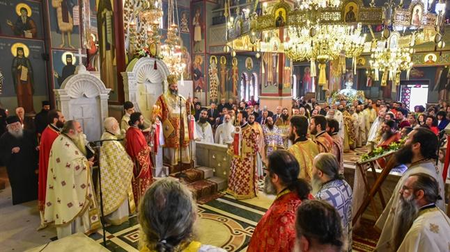 Ο Εσπερινός της Αγάπης εις τον Ιερό Μητροπολιτικό ναό Αγ. Παρασκευής - Λαγκαδά   FOTO