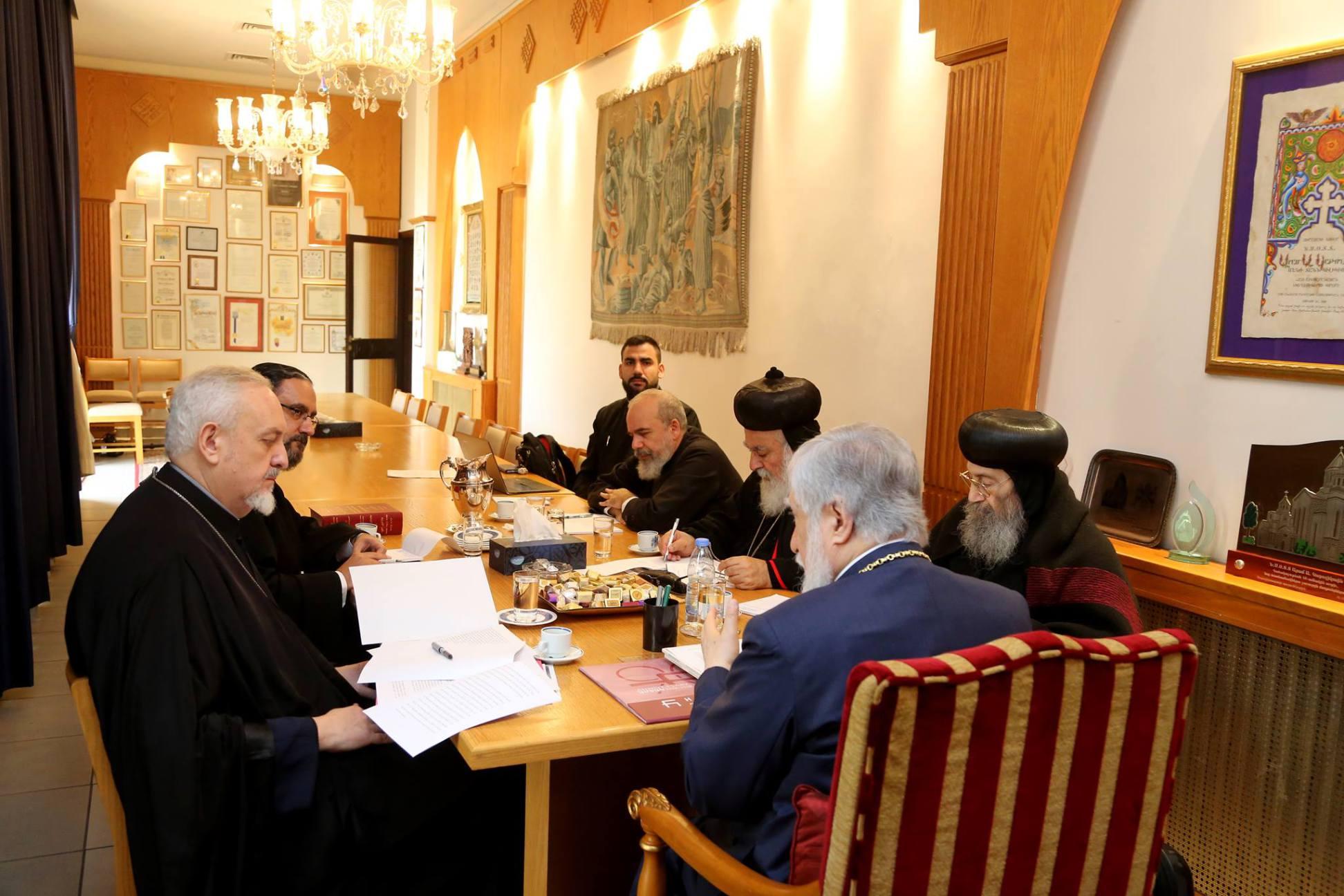 Συνεδρίαση των Συμπροέδρων του Διαλόγου μεταξύ της Ορθοδόξου Εκκλησίας και των Αρχαίων Ανατολικών Εκκλησιών στο Λίβανο